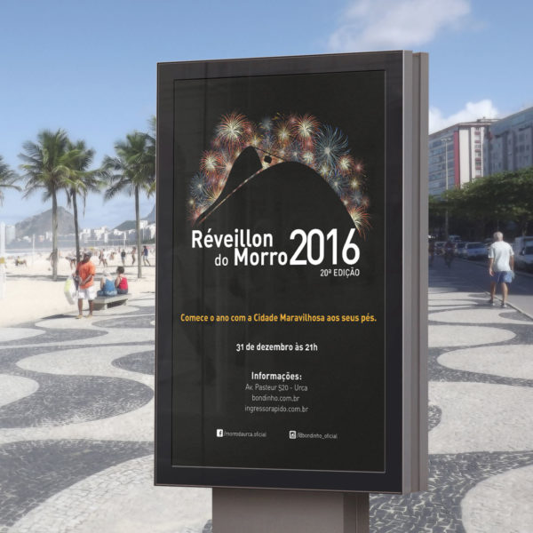 Réveillon 2016 Morro da Urca