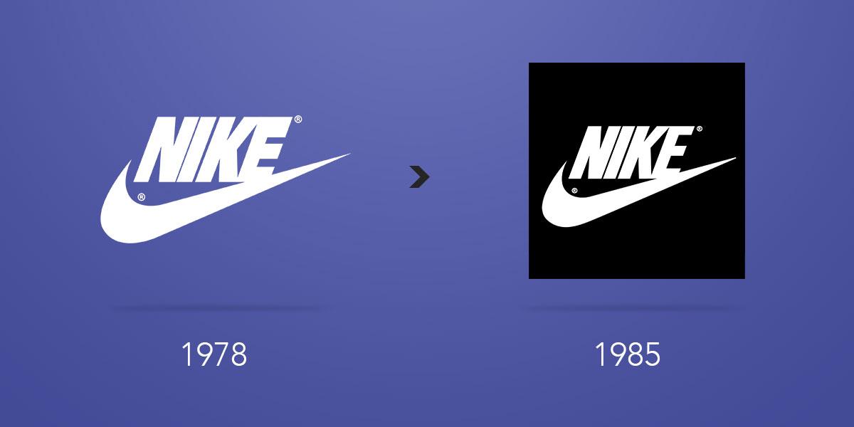 ececcda0b79 A evolução do logotipo da Nike